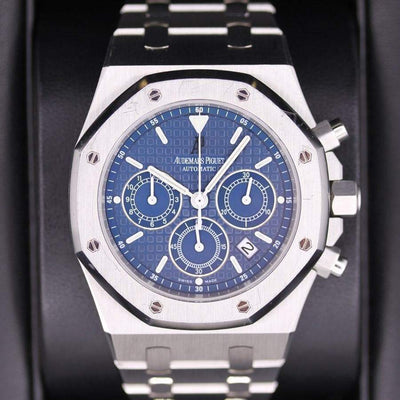 Audemars Piguet Royal Oak Chronograph 39mm 25860ST Blue Dial Pre-Owned-First Class Timepieces