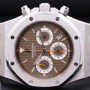 Audemars Piguet Royal Oak Chronograph 39mm 26300ST Brown Dial Pre-Owned-First Class Timepieces