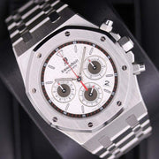Audemars Piguet Royal Oak Chronograph 39mm 26300ST White Dial Pre-Owned-First Class Timepieces