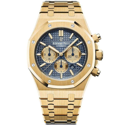 Audemars Piguet Royal Oak Chronograph 41mm 26331BA Blue Dial-First Class Timepieces
