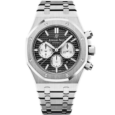 Audemars Piguet Royal Oak Chronograph 41mm 26331ST Black Dial-First Class Timepieces
