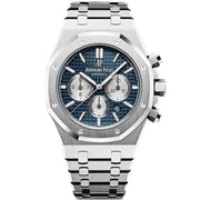 Audemars Piguet Royal Oak Chronograph 41mm 26331ST Blue Dial-First Class Timepieces