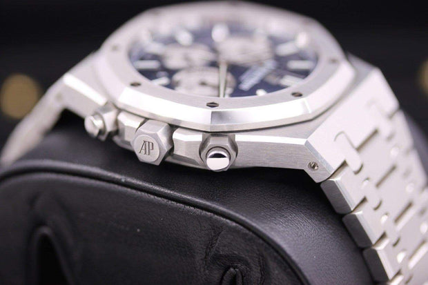 Audemars Piguet Royal Oak Chronograph 41mm 26331ST Blue Dial Pre-Owned-First Class Timepieces