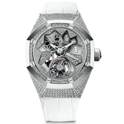 Audemars Piguet Royal Oak Concept Flying Tourbillon 38mm 26227BC Overworked Diamond Dial-First Class Timepieces