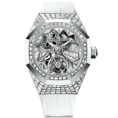 Audemars Piguet Royal Oak Concept Flying Tourbillon 38mm 26228BC Overworked Diamond Dial-First Class Timepieces
