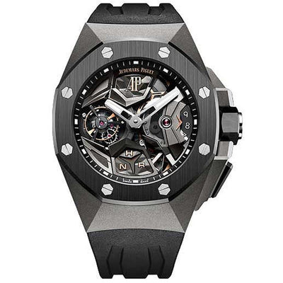 Audemars Piguet Royal Oak Concept Flying Tourbillon GMT 44mm 26589IO Overworked Dial-First Class Timepieces
