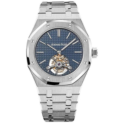 Audemars Piguet Royal Oak Extra-Thin Tourbillon 41mm 26510ST Blue Dial - First Class Timepieces
