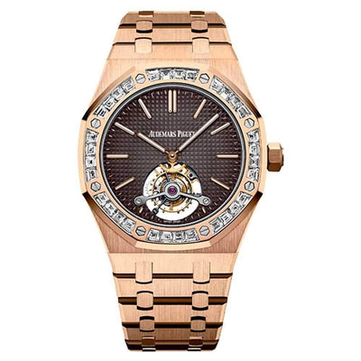 Audemars Piguet Royal Oak Extra-Thin Tourbillon 41mm 26516OR Brown Dial-First Class Timepieces
