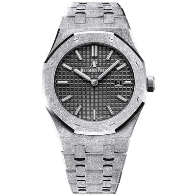 Audemars Piguet Royal Oak Frosted 33mm 67653BC Black Dial - First Class Timepieces