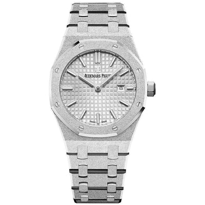 Audemars Piguet Royal Oak Frosted 33mm 67653BC Rhodium Dial - First Class Timepieces