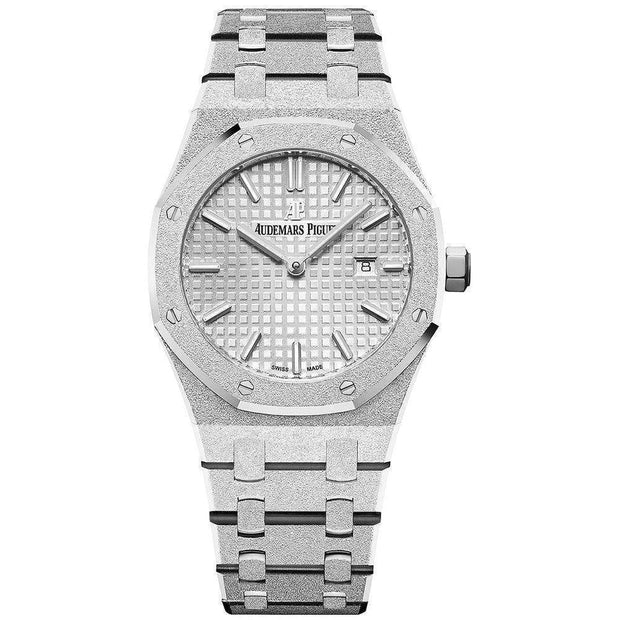 Audemars Piguet Royal Oak Frosted 33mm 67653BC Rhodium Dial-First Class Timepieces