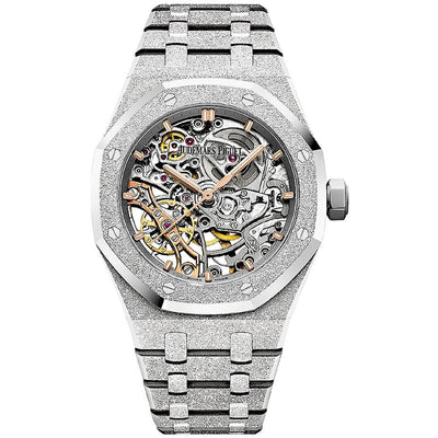 Audemars Piguet Royal Oak Frosted 37mm 15466BC Overworked Dial-First Class Timepieces