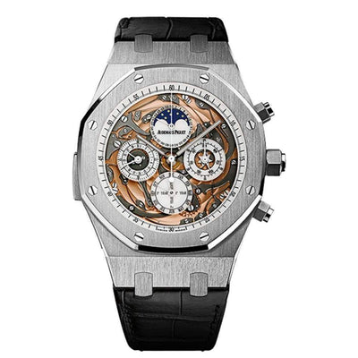 Audemars Piguet Royal Oak Grande Complications 44mm 26552BC Overworked Dial - First Class Timepieces