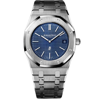 "Audemars Piguet Royal Oak ""Jumbo"" Extra-Thin 39mm 15202ST Blue Dial-First Class Timepieces"