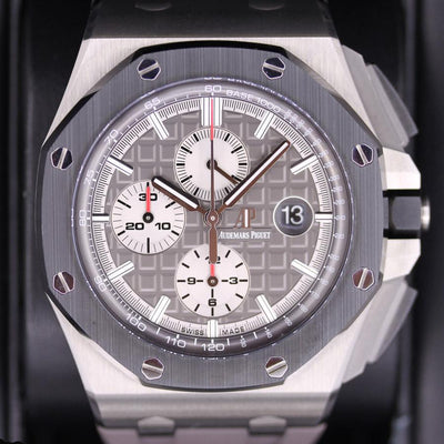 Audemars Piguet Royal Oak Offshore 44mm 26400IO Grey Dial Pre-Owned-First Class Timepieces