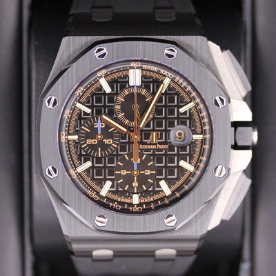 Audemars Piguet Royal Oak Offshore 44mm 26405CE Black Dial Pre-Owned-First Class Timepieces