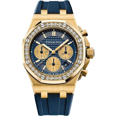 Audemars Piguet Royal Oak Offshore Chronograph 37mm 26231BA Blue Dial - First Class Timepieces