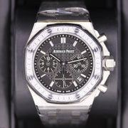 Audemars Piguet Royal Oak Offshore Chronograph 37mm 26231ST Black Dial - First Class Timepieces