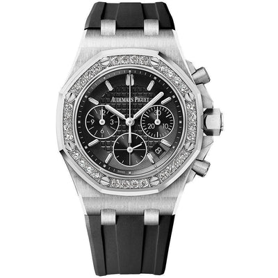Audemars Piguet Royal Oak Offshore Chronograph 37mm 26231ST Black Dial-First Class Timepieces