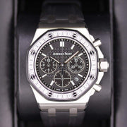Audemars Piguet Royal Oak Offshore Chronograph 37mm 26231ST Black Dial Pre-Owned-First Class Timepieces