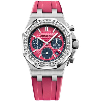 Audemars Piguet Royal Oak Offshore Chronograph 37mm 26231ST Pink Dial - First Class Timepieces