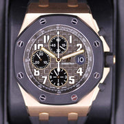 Audemars Piguet Royal Oak Offshore Chronograph 42mm 25940OK Grey Dial Pre-Owned-First Class Timepieces