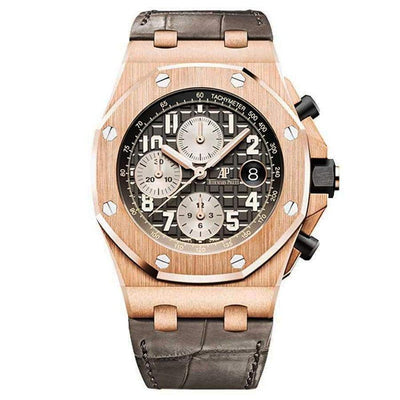 Audemars Piguet Royal Oak Offshore Chronograph 42mm 26470OR Grey Dial - First Class Timepieces