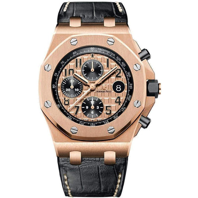 Audemars Piguet Royal Oak Offshore Chronograph 42mm 26470OR Pink Dial - First Class Timepieces