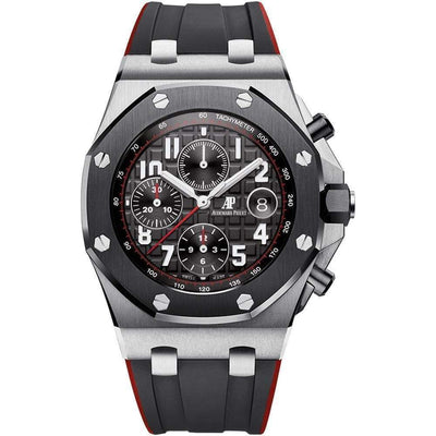 "Audemars Piguet ""Vampire"" Royal Oak Offshore Chronograph 42mm 26470SO Black Dial - First Class Timepieces"