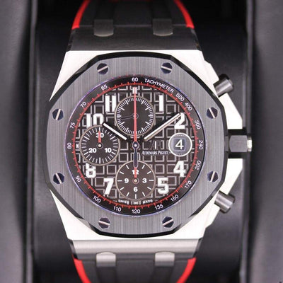 Audemars Piguet Royal Oak Offshore Chronograph 42mm 26470SO Black Dial Pre-Owned-First Class Timepieces