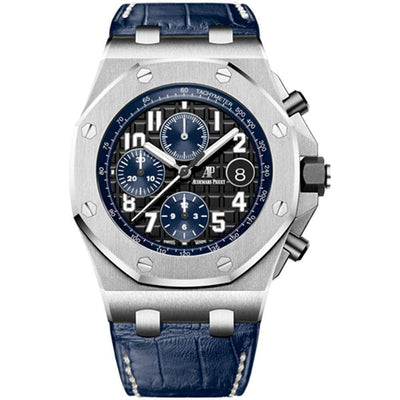 Audemars Piguet Royal Oak Offshore Chronograph 42mm 26470ST Black Dial-First Class Timepieces