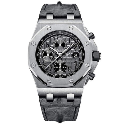Audemars Piguet Royal Oak Offshore Chronograph 42mm 26470ST Grey Dial-First Class Timepieces