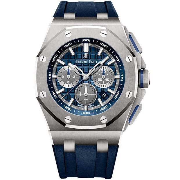 Audemars Piguet Royal Oak Offshore Chronograph 42mm 26480TI Blue Dial-First Class Timepieces