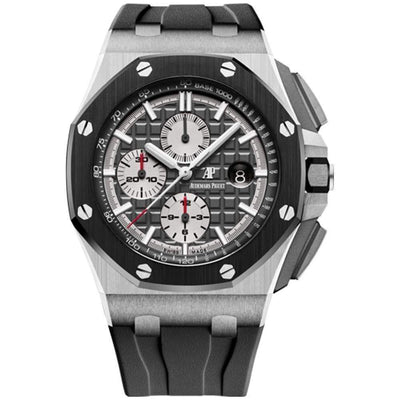 Audemars Piguet Royal Oak Offshore Chronograph 44mm 26400IO Grey Dial - First Class Timepieces