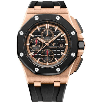 Audemars Piguet Royal Oak Offshore Chronograph 44mm 26401RO Black Dial-First Class Timepieces