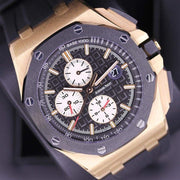 Audemars Piguet Royal Oak Offshore Chronograph 44mm 26401RO Black Dial Pre-Owned-First Class Timepieces