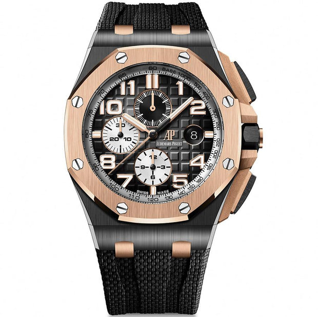 Audemars Piguet Royal Oak Offshore Chronograph 44mm 26405NR Smoked Grey Dial-First Class Timepieces