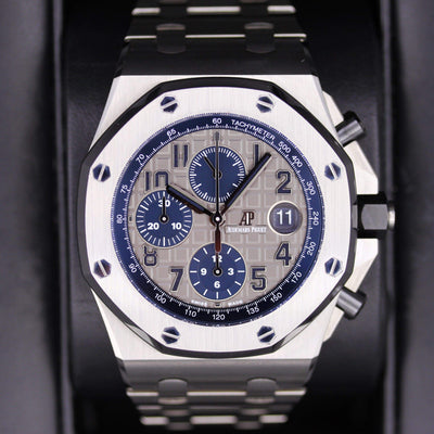 Audemars Piguet Royal Oak Offshore Chronograph QEII 2018 Cup Pre-Owned - First Class Timepieces