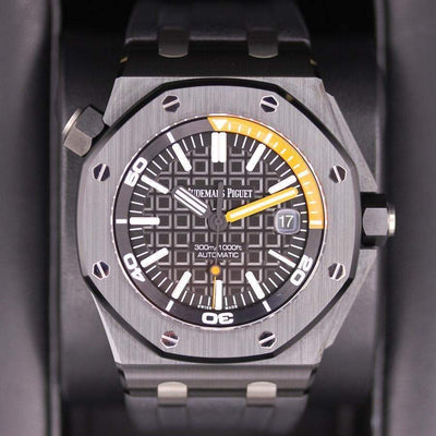 Audemars Piguet Royal Oak Offshore Diver 42mm 15707CE Black Dial Pre-Owned-First Class Timepieces