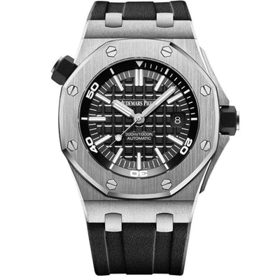 Audemars Piguet Royal Oak Offshore Diver 42mm 15710ST Black Dial - First Class Timepieces