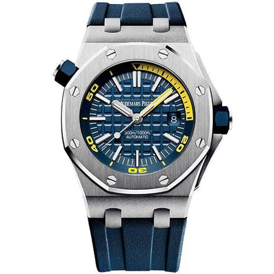 Audemars Piguet Royal Oak Offshore Diver 42mm 15710ST Blue Dial - First Class Timepieces