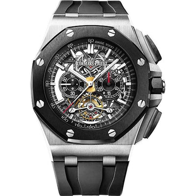 Audemars Piguet Royal Oak Offshore Tourbillon Chronograph 44mm 26348IO Overworked - First Class Timepieces