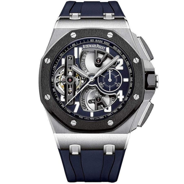 Audemars Piguet Royal Oak Offshore Tourbillon Chronograph 44mm 26388PO Overworked-First Class Timepieces