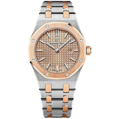 Audemars Piguet Royal Oak Quartz 33mm 67650SR Pink Dial-First Class Timepieces
