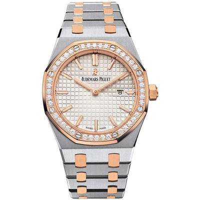 Audemars Piguet Royal Oak Quartz 33mm 67651SR Silver Dial-First Class Timepieces