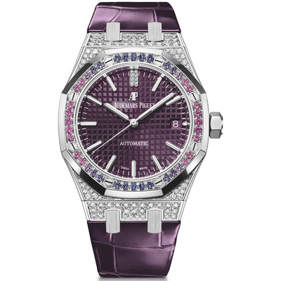 Audemars Piguet Limited Edition Royal Oak 37mm 15452BC Purple Dial
