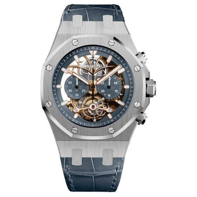Audemars Piguet Royal Oak Tourbillon Chronograph 44mm 26347PT Overworked-First Class Timepieces