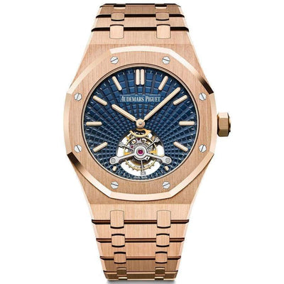 Audemars Piguet Royal Oak Tourbillon Extra-Thin 41mm 26522OR Blue Dial-First Class Timepieces