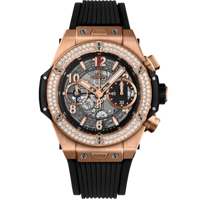 Hublot Big Bang Unico Chronograph 42mm 441.OX.1180.RX.1104 Overworked Dial