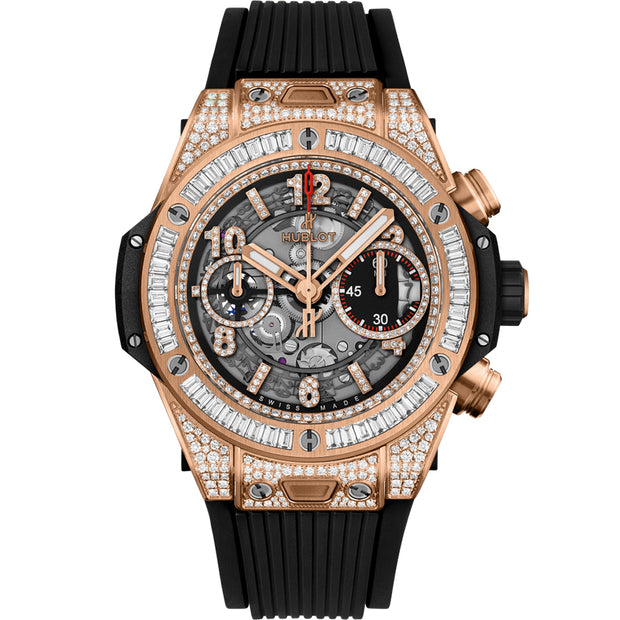 Hublot Big Bang Unico Chronograph 42mm 441.OX.1180.RX.0904 Overworked Diamond Dial